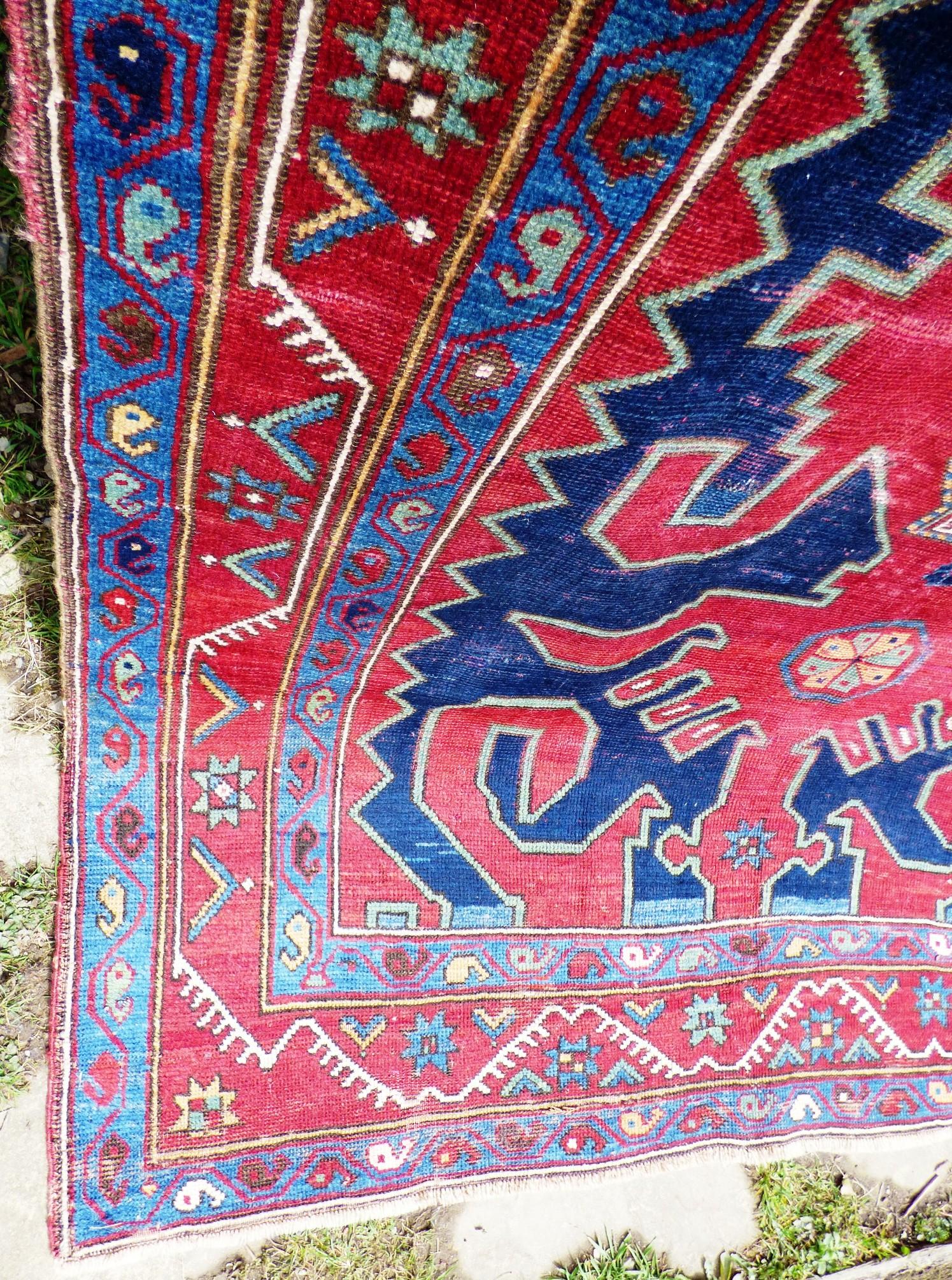 Caucasian Azerbaijan Gabala Honcha Carpet A F 17003