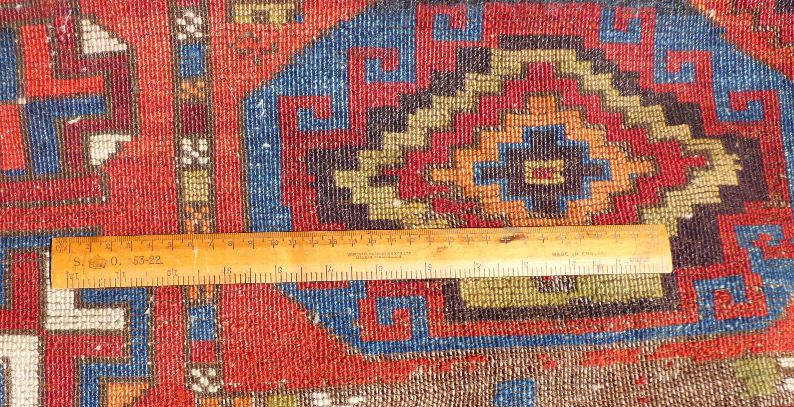 Anatolian Turkish Kurdish Rug Wool On Wool A F 17049