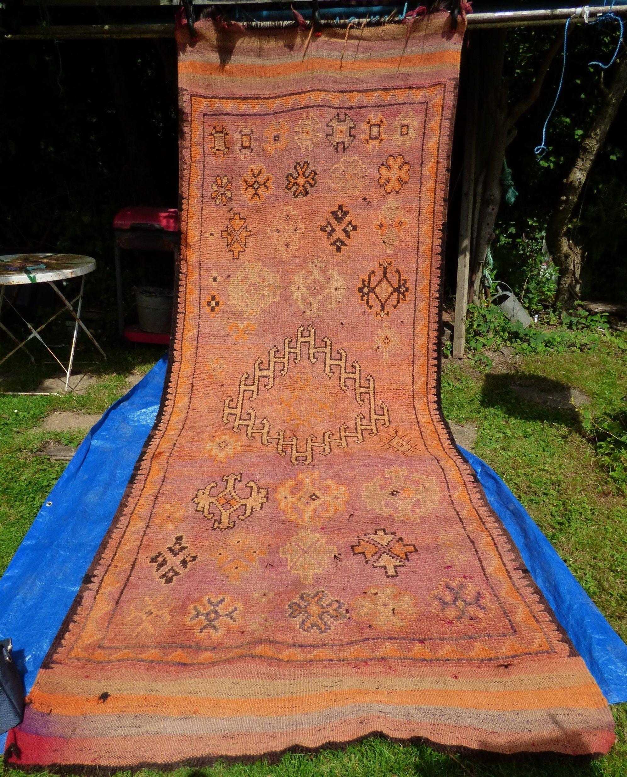 Large North African Carpet #17072