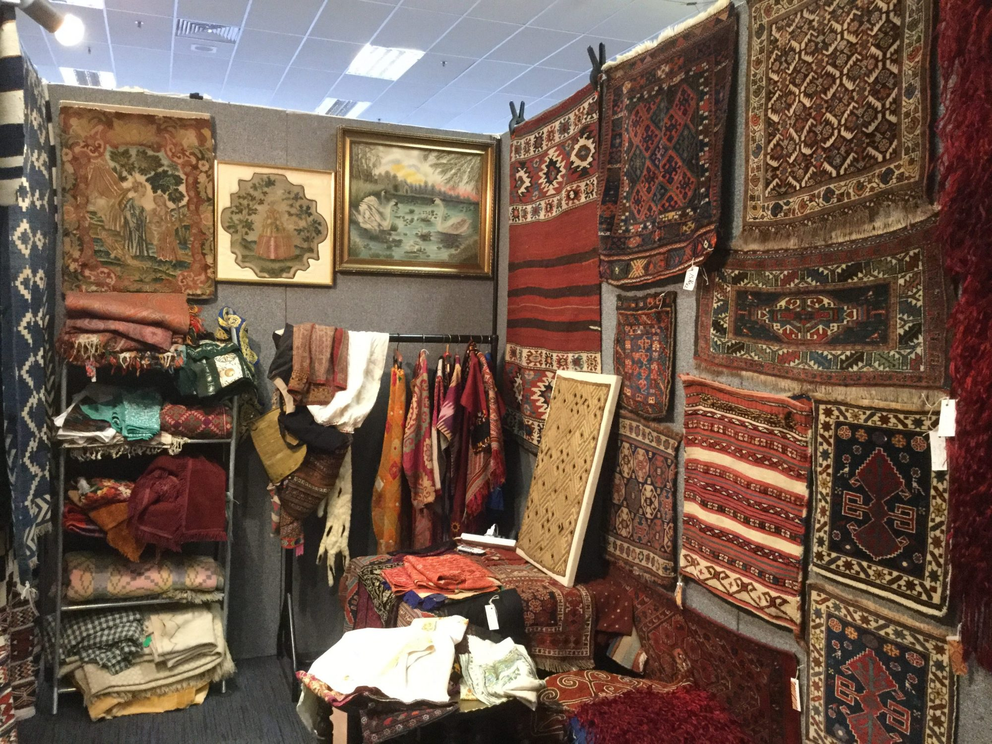 Dominic Orr Tribal Textile Fair UK
