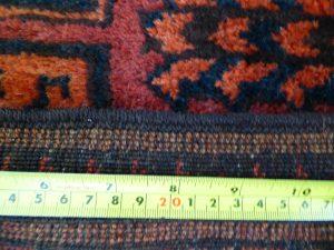Afghan Turkmen rug detail
