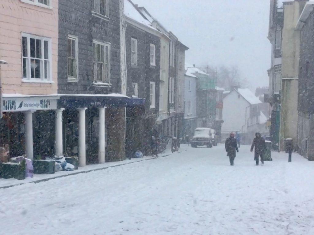 Totnes Snow 2018