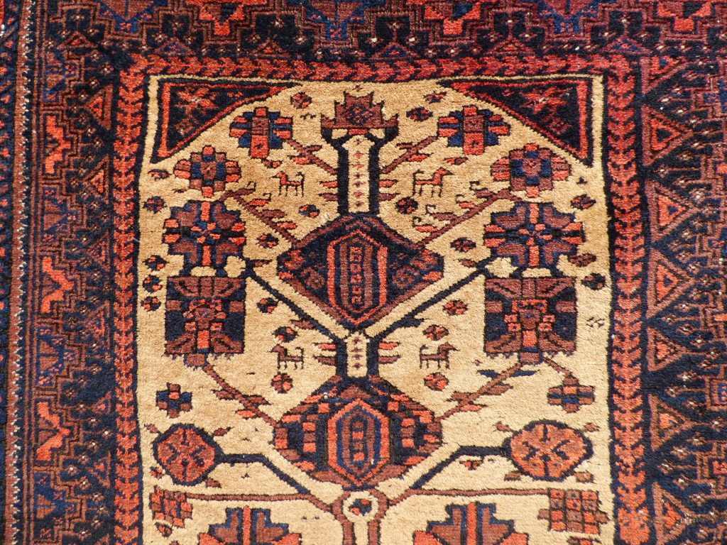 Baluch Camel ground rug