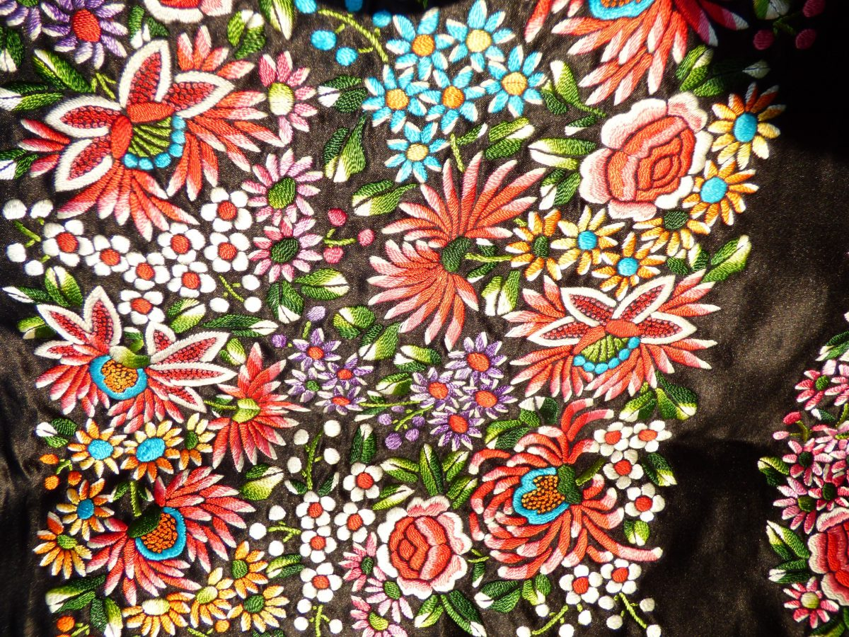 Chinese embroidery