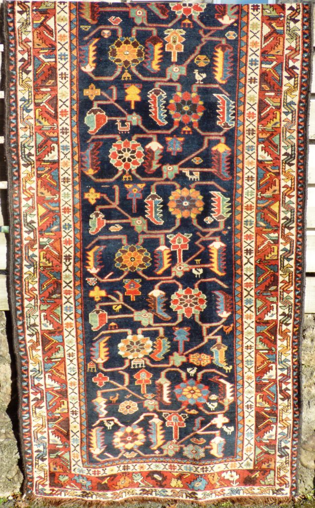 Persian Kurdish wool runner