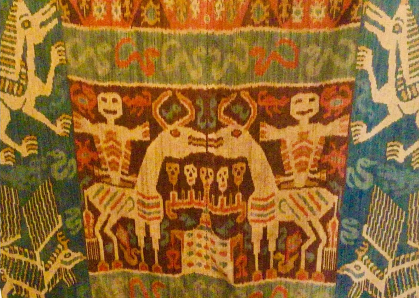 Sumba Hinggi Ikat cloth