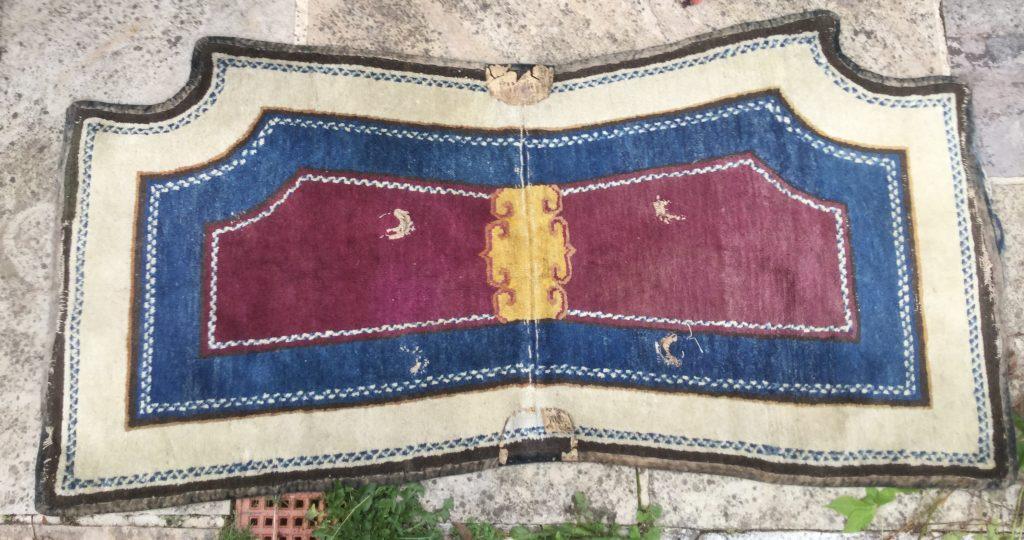 Tibetan saddle rug
