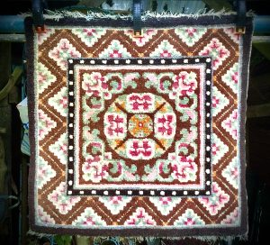 Tibetan meditation mat