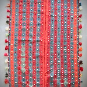 Moj wool twill weave cover